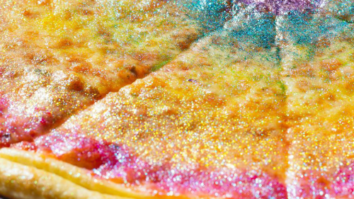Food Trend: Rainbow Glitter Pizza - Forkly
