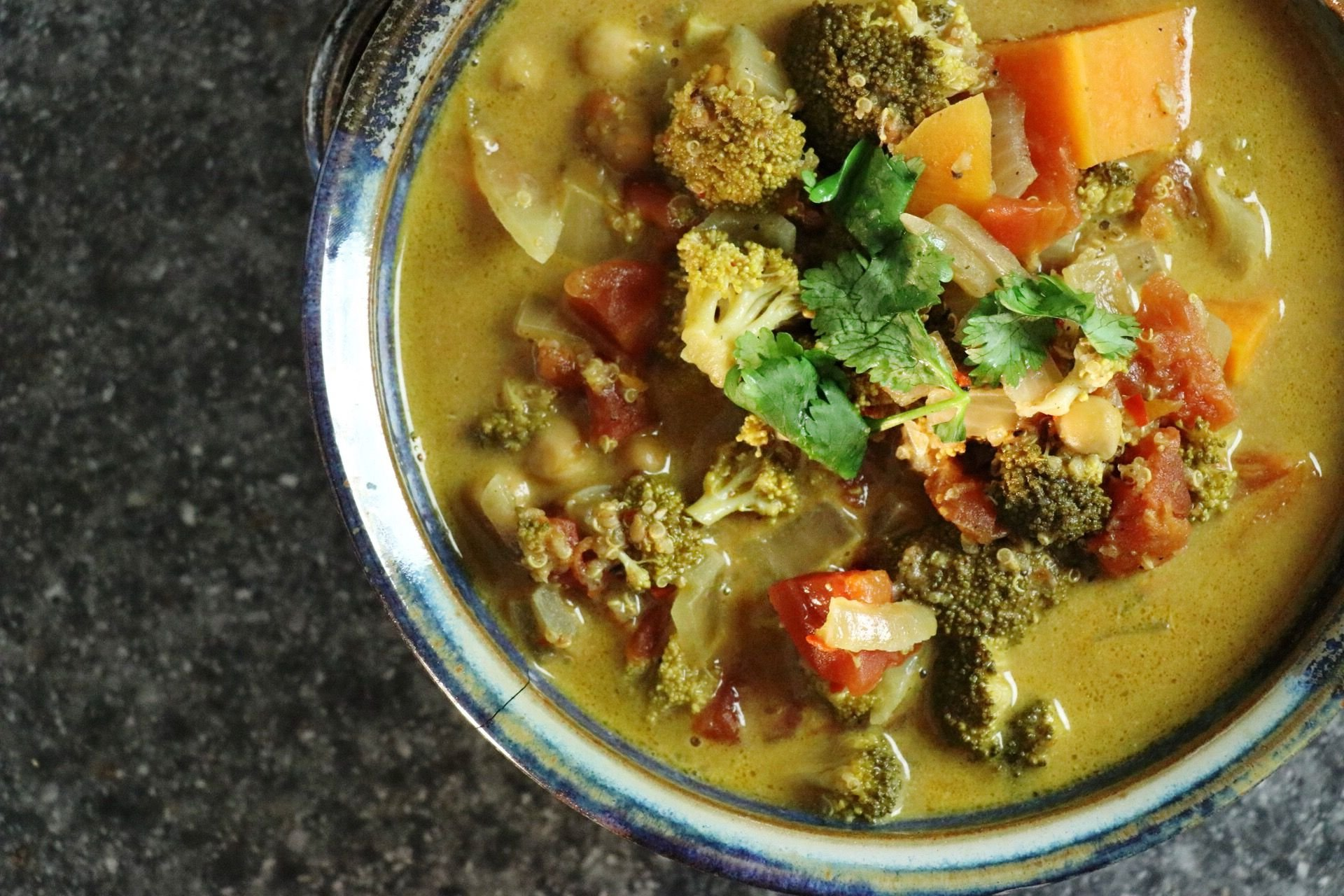 Slow Cooker Vegan Curry Stew - Forkly