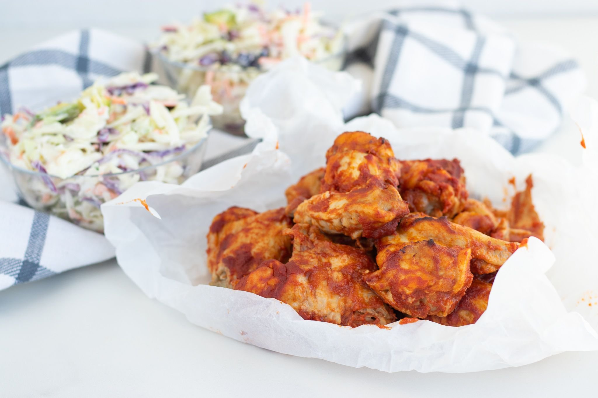 Easy Instant Pot Keto BBQ Chicken Wings - Forkly