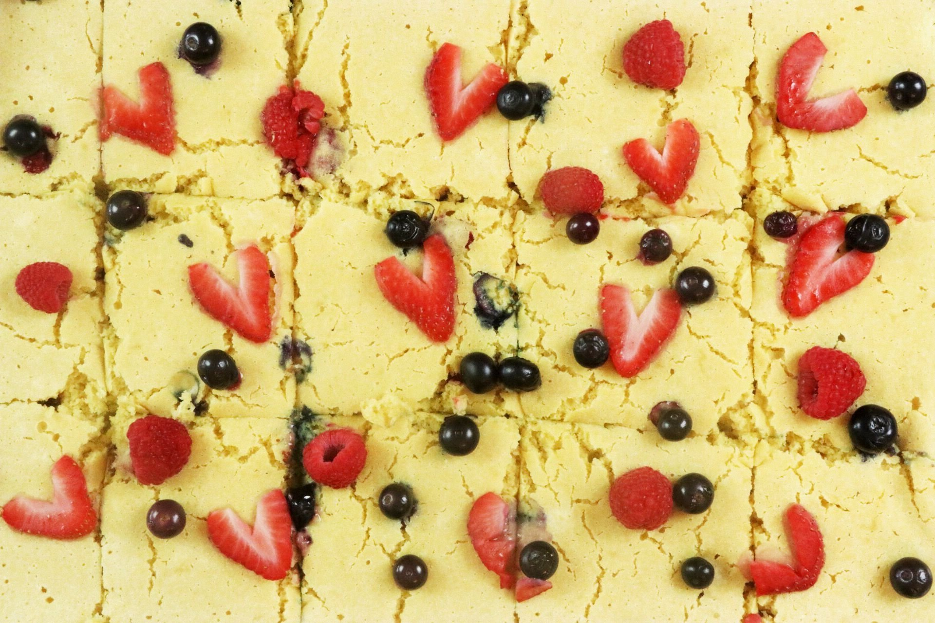 Easy Sheet Pan Berry Pancakes - Forkly