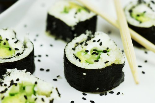 Low-Carb Cauliflower Sushi - Forkly