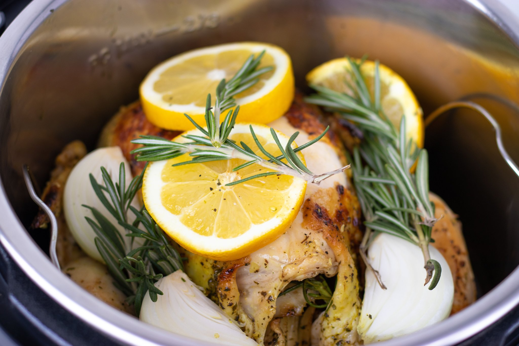 Instant Pot Whole (Faux) Rotisserie Chicken - Forkly
