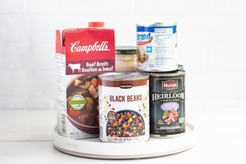 Lazy Susan DIY Hack: Pantry Organization - Forkly
