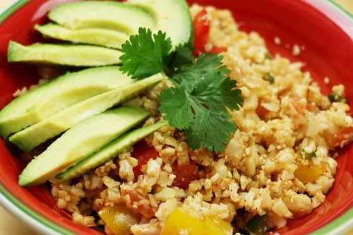 Low-Carb Keto Cauliflower Mexican Rice - Forkly