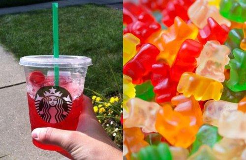 This New Secret Starbucks Drink Tastes Like Gummy Bears - Forkly