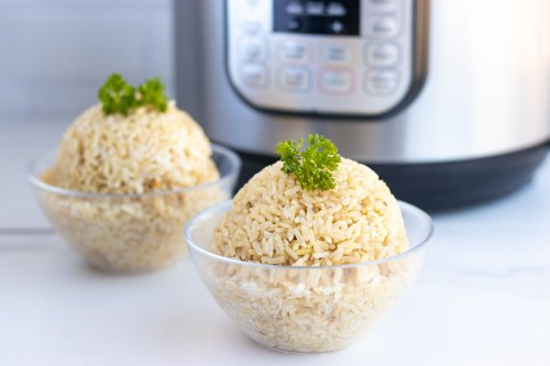 Instant Pot Hack: Cooking Perfect Brown Rice - Forkly