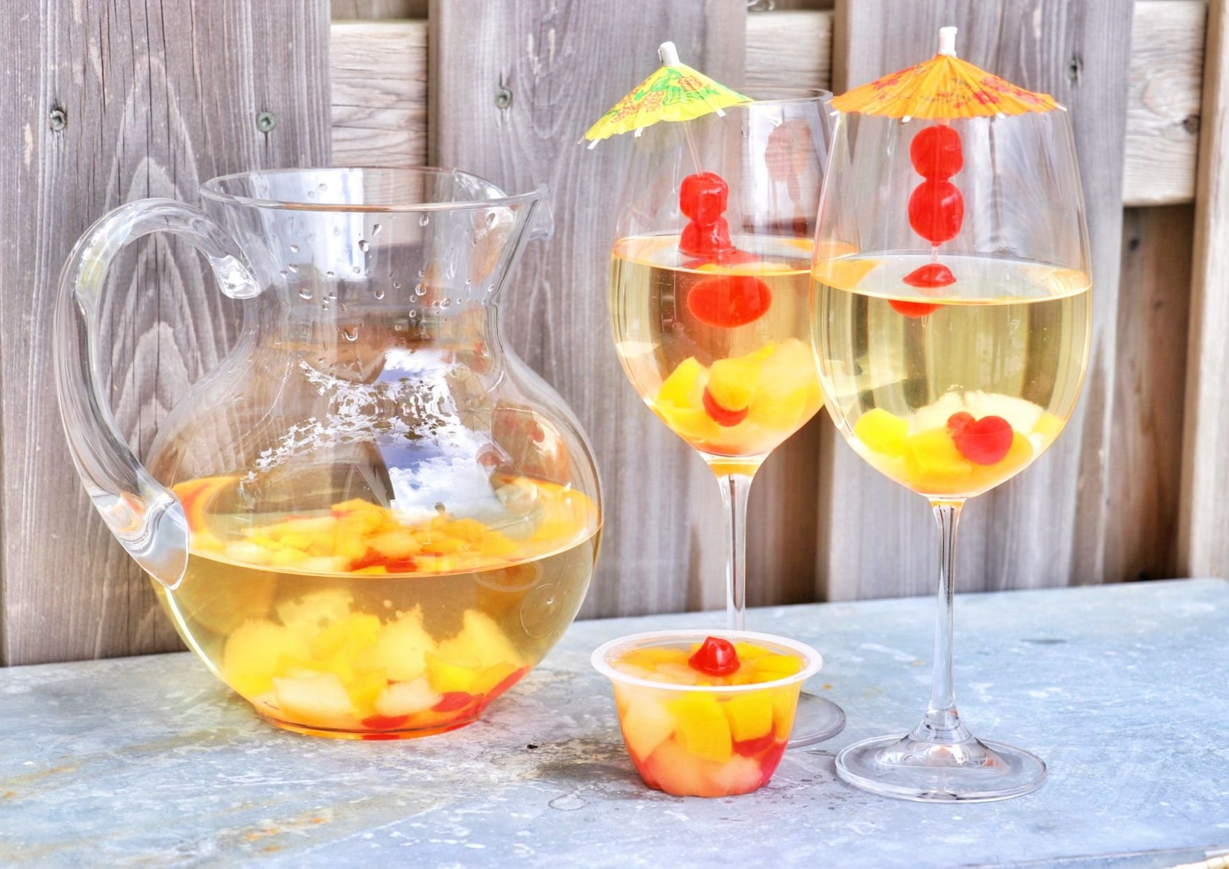 Fruit Cup Sangria - Forkly
