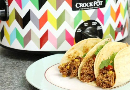Southwestern Slowcooker Leftover Rotisserie Chicken Dinner - Forkly