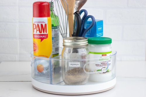 Lazy Susan DIY Hack: 15 Simple Ways To Organize Your Kitchen - Forkly