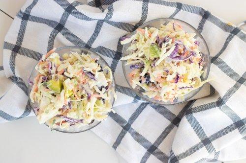 Creamy Keto Fat Bomb Summer Slaw - Forkly