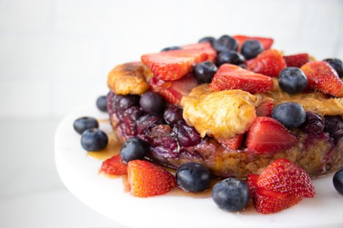 Instant Pot French Toast Croissant Casserole - Forkly