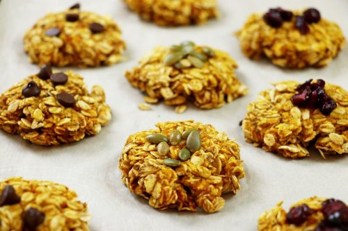 Healthy Pumpkin Oat Breakfast Cookies - Forkly