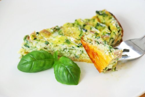 Cheese Crusted Keto Quiche - Forkly