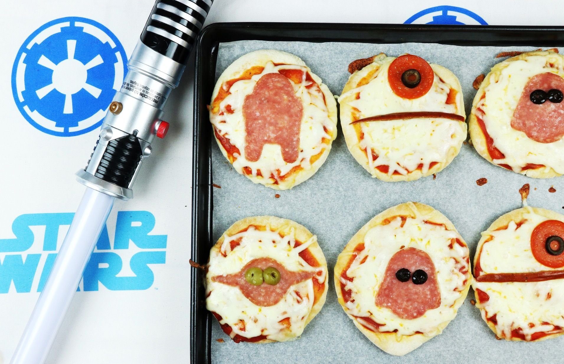 Star Wars Mini Pizzas! - Forkly