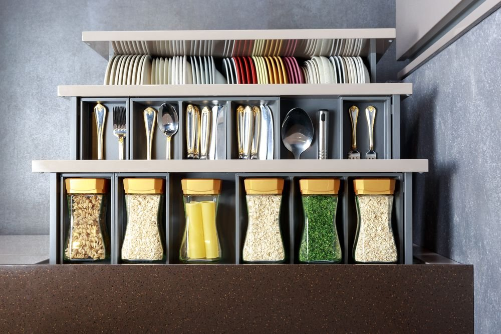 Genius Ways to Organize Your Kitchen Using Dollar Store Items - Forkly