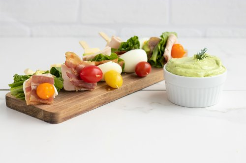 Drool-Worthy Keto Cobb Salad On A Stick - Forkly