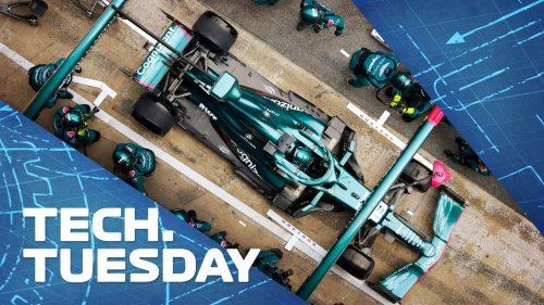 TECH TUESDAY: How Aston Martin are developing the AMR21 to hit back in the midfield battle   Formula 1®