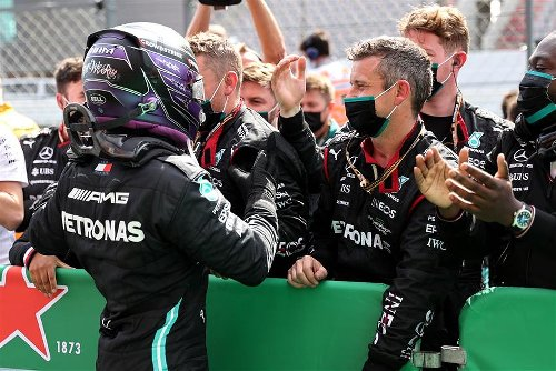 Hamilton Wins Portuguese GP To Extend Championship Lead Over Verstappen