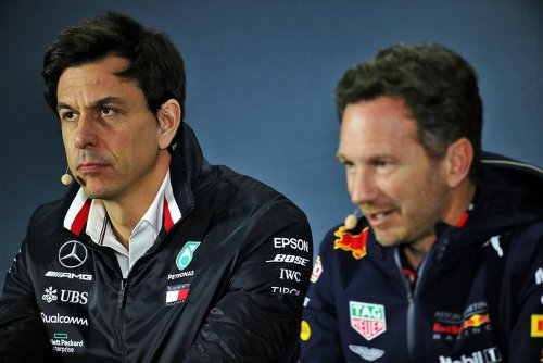 Horner Says Wolff Should Mind His Own Business After Suggesting VW Could Partner Red Bull