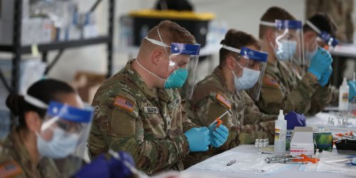 The U.S. Army is working on a COVID-19 vaccine it thinks could protect against new strains