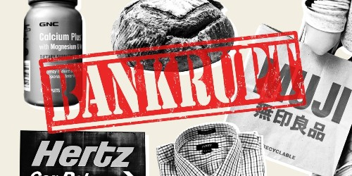 A running list of companies that have filed for bankruptcy during the coronavirus pandemic
