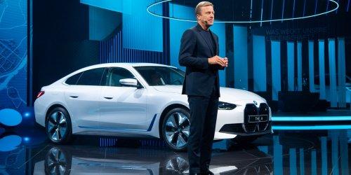 BMW's new i4 electric sport sedan is an EV star