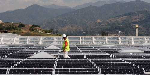Solar Briefly Topped 50% of California Electricity in March, Driving Rates Below Zero