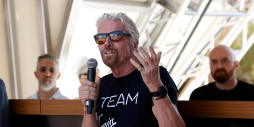 Richard Branson wants the infrastructure bill to incentivize hyperloops