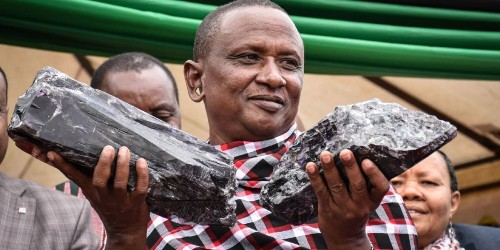 What is tanzanite? It just made this man a millionaire. And proved African mining reforms can work.