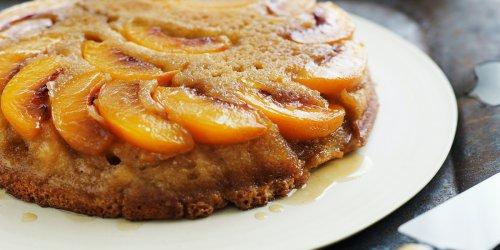 Gina DePalma's peach cake recipe will make you forget about pumpkin spice