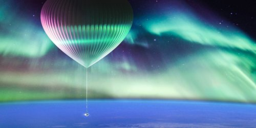This company plans to offer balloon rides from Alaska to the edge of space