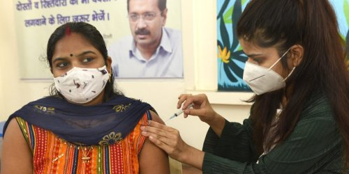 Only 15% of India is fully vaccinated, despite being home to the worlds largest vaccine manufacturer
