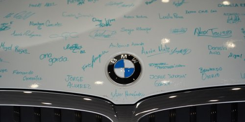 BMW is quietly stealing the buzz from Tesla—and investors are electrified