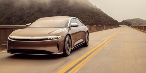 Lucid Motor's Air EV finally hits the roads with a range that blows Tesla away