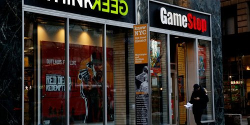 GameStop stock is on the rise again—but not because of Reddit this time