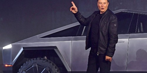 Elon Musk's rocket ride