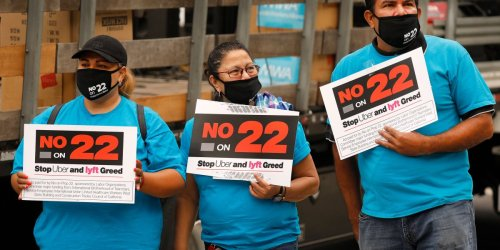 Uber, Lyft, and gig companies win big after Prop 22 passes in California