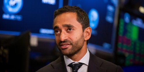 As SPAC rout deepens, Chamath Palihapitiya becomes the face of a market wipeout