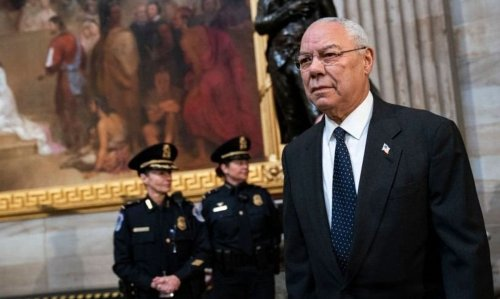 Colin Powell's early life was steeped in Jewish culture and Yiddish. It stayed with him.