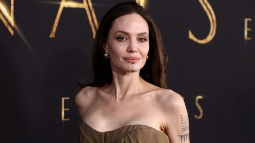 Angelina Jolie's daughter Zahara wears mom's 2014 Oscars gown to 'Eternals' premiere