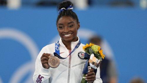Simone Biles returns to win bronze in balance beam at Tokyo Olympics