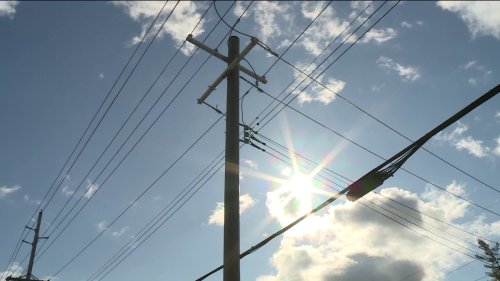 Power and traffic disrupted after utility pole breaks at I-44 and Grand