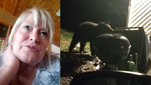 As black bear hunting season nears, Missouri woman sees one at her home