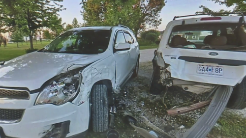 Woman struck repeatedly by uninsured drivers finally sees one of the drivers in court