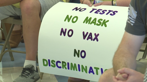 Troy, Illinois school district decides masks aren't required, except when a teacher says so