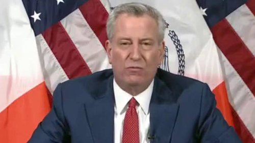 NYC Mayor Bill de Blasio threatens to send sheriff deputies to homes, hotels of UK travelers