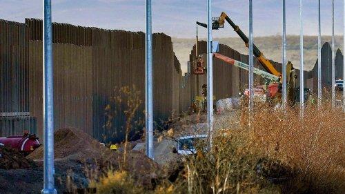 Biden administration to resume border wall construction as crisis worsens