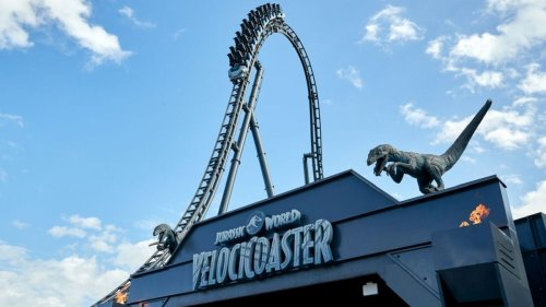 Universal Orlando's Jurassic World VelociCoaster to open in June