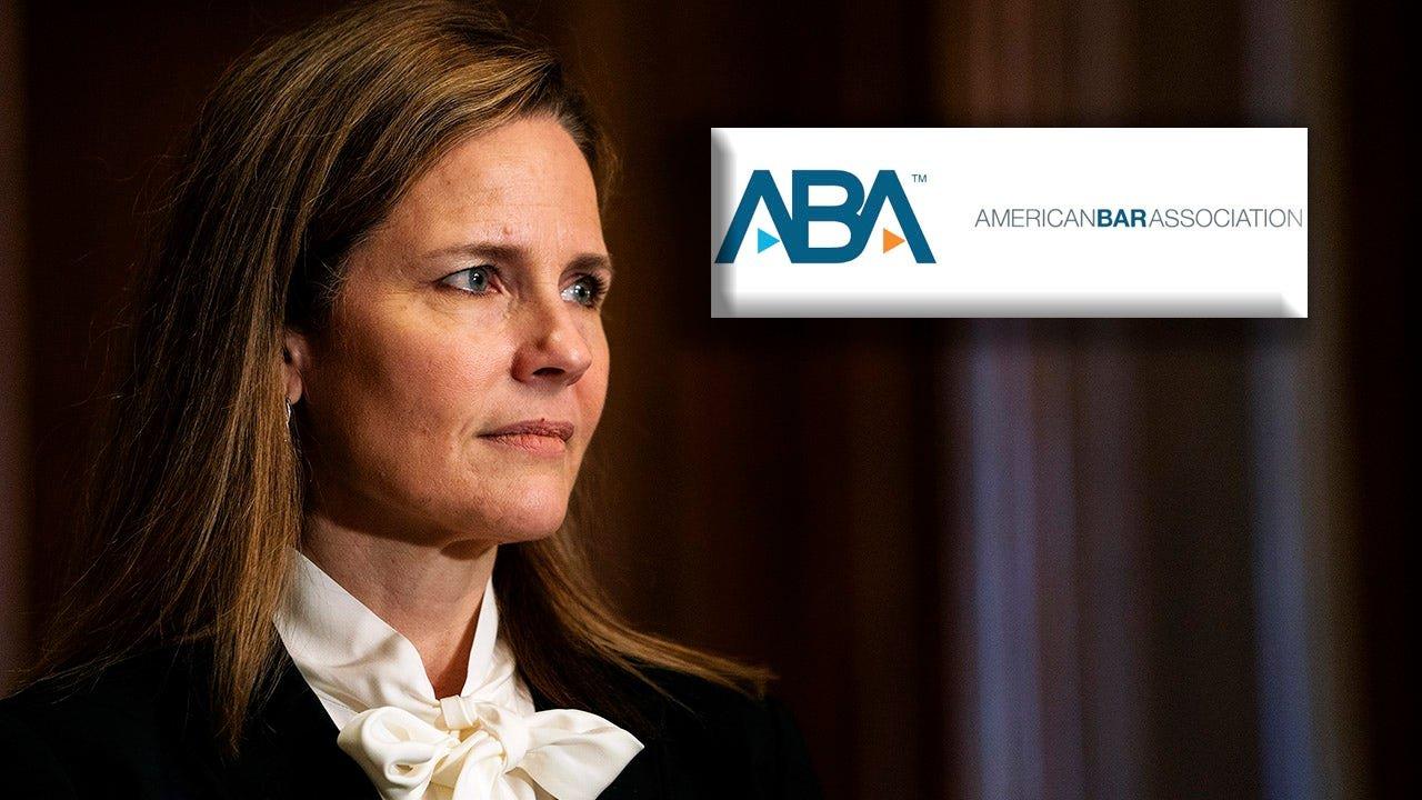 American Bar Association rates Amy Coney Barrett 'well qualified'