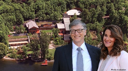 Bill Gates, Melinda Gates have huge Washington home to split up in divorce
